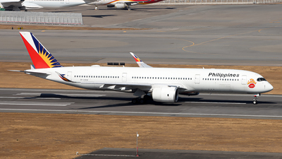 RP-C3508 - Airbus A350-941 - Philippine Airlines