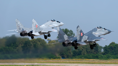 65 - Mikoyan-Gurevich MiG-29A Fulcrum - Poland - Air Force