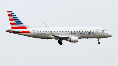 A picture of N106HQ - Embraer E175LR - American Airlines - © Oliver Richter