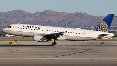 N473UA - Airbus A320-232 - United Airlines