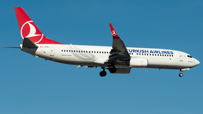 TC-JVA - Boeing 737-8F2 - Turkish Airlines