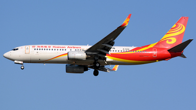 B-5136 - Boeing 737-84P - Hainan Airlines