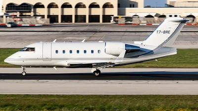 T7-BRE - Bombardier CL-600-2B16 Challenger 604 - Private