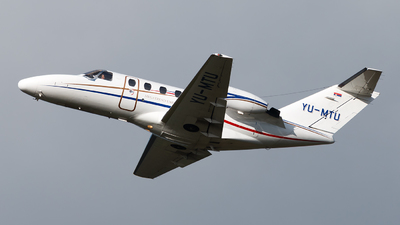 YU-MTU - Cessna 525 CitationJet 1 - Private