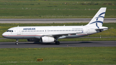 A picture of SXDGN - Airbus A320232 - Aegean Airlines - © Günter Reichwein