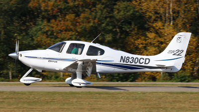 N830CD - Cirrus SR22 - Private