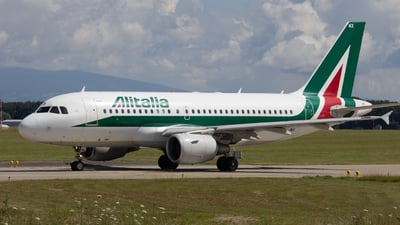 EI-IMX - Airbus A319-111 - Alitalia