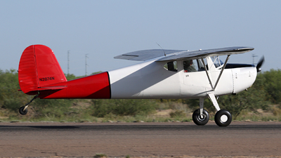 N2874N - Cessna 120 - Private
