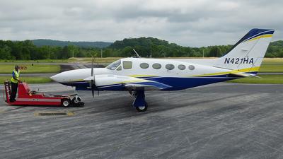N421HA - Cessna 421C Golden Eagle - Private
