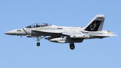 166895 - Boeing EA-18G Growler  - United States - US Navy (USN)