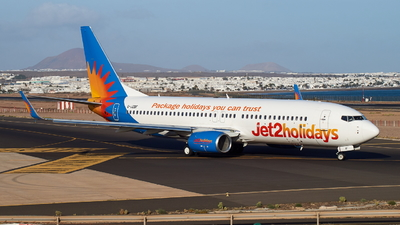 A picture of GJZBF - Boeing 7378MG - Jet2 - © JakkoFly