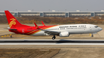 A picture of B5616 - Boeing 73787L - Shenzhen Airlines - © Charlie-Aviationphotography