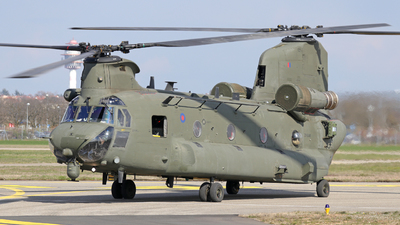 ZK556 - Boeing Chinook HC.6 - United Kingdom - Royal Air Force (RAF)