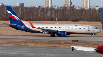 VQ-BWA - Boeing 737-8LJ - Aeroflot