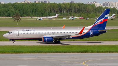 VQ-BVU - Boeing 737-8LJ - Aeroflot
