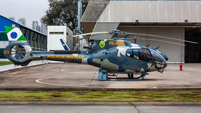 PR-ECB - Eurocopter EC 130B4 - Brazil - Government of Parana