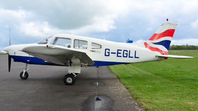 G-EGLL - Piper PA-28-161 Warrior II - British Airways Flying Club