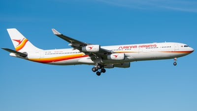 PZ-TCR - Airbus A340-313X - Surinam Airways