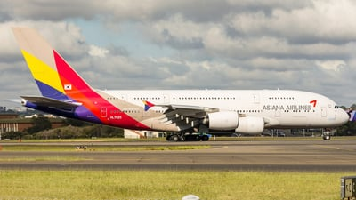 HL7625 - Airbus A380-841 - Asiana Airlines