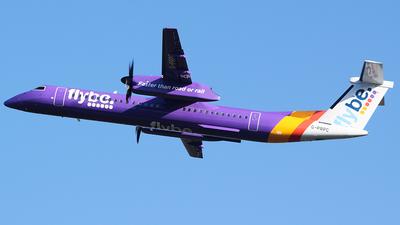 A picture of GPRPC - De Havilland Canada Dash 8400 - Flybe - © John Fitzpatrick