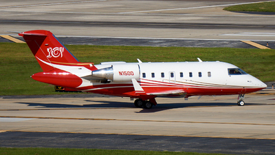N1500 - Bombardier CL-600-2B16 Challenger 605 - Private