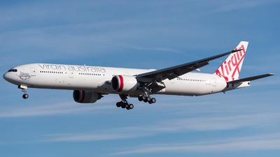 VH-VPE - Boeing 777-3ZGER - Virgin Australia Airlines