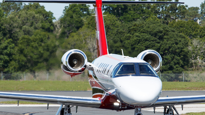 N880RR - Cessna 525 Citationjet CJ3 - Private