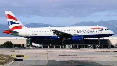 A picture of GEUUH - Airbus A320232 - British Airways - © Javier Rodriguez - Amics de Son Sant Joan
