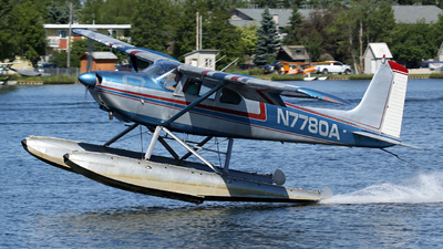 A picture of N7780A - Cessna 180A - [32677] - © Kevin Porter