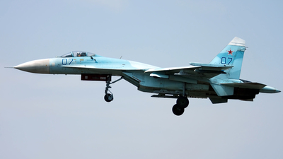 07 - Sukhoi Su-27SM Flanker - Russia - Air Force