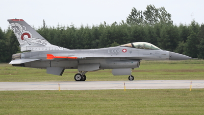 E-008 - General Dynamics F-16AM Fighting Falcon - Denmark - Air Force
