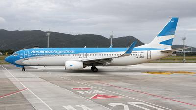 LV-GGK - Boeing 737-8SH - Aerolíneas Argentinas