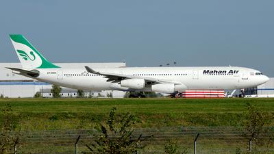 A picture of EPMMA - Airbus A340311 - Mahan Air - © OSDU