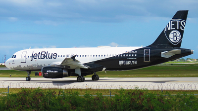 A picture of N633JB - Airbus A320232 - JetBlue Airways - © Rupert Haughton - Jamaica MBJ Spotter