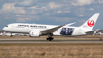 JA841J - Boeing 787-8 Dreamliner - Japan Airlines (JAL)