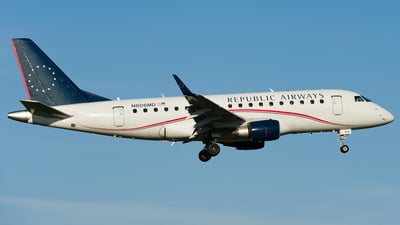 N806MD - Embraer 170-100SU - Republic Airways