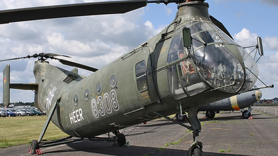 83-08 - Piasecki CH-21B Workhorse - Germany - Army
