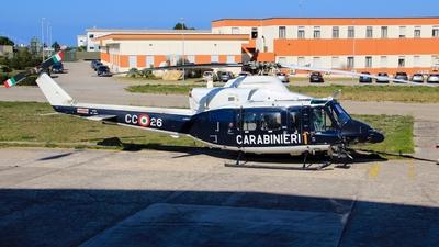MM81450 - Agusta-Bell AB-412HP - Italy - Arma dei Carabinieri