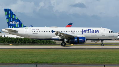 A picture of N646JB - Airbus A320232 - JetBlue Airways - © Hector Rivera - Puerto Rico Spotter