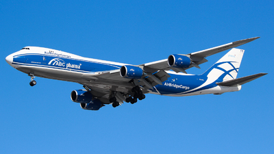 VQ-BFE - Boeing 747-83QF - Air Bridge Cargo