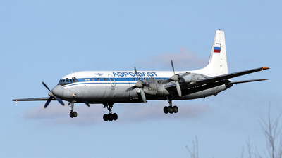 RA-75478 - Ilyushin IL-18D - Russia - Air Force