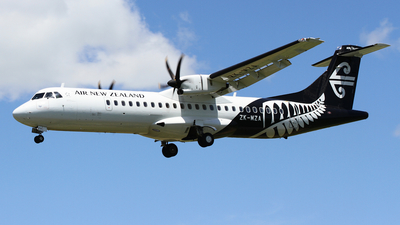 ZK-MZA - ATR 72-212A(600) - Air New Zealand