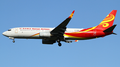 A picture of B5428 - Boeing 73786N - Hainan Airlines - © M.T