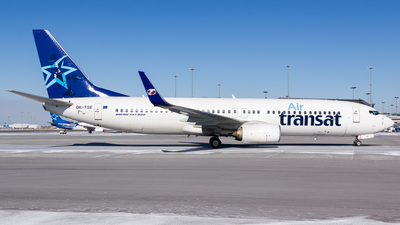 OK-TSE - Boeing 737-81D - Air Transat (Travel Service)