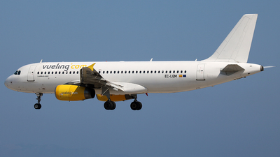 EC-LQM - Airbus A320-232 - Vueling Airlines