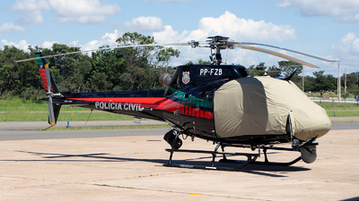 PP-FZB - Aérospatiale AS 350B2 Ecureuil - Brazil - Policia Civil