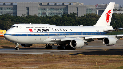 B-2482 - Boeing 747-89L - Air China