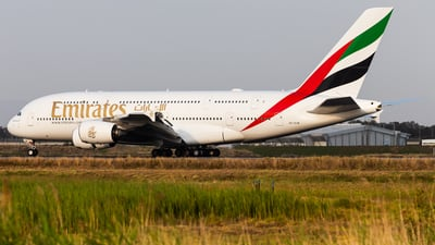 A6-EUW - Airbus A380-842 - Emirates