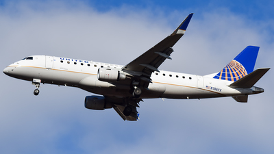A picture of N746YX - Embraer E175LR - United Airlines - © Evan Dougherty