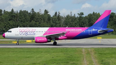 HA-LWK - Airbus A320-232 - Wizz Air